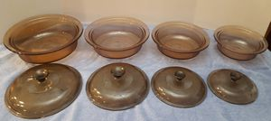 Visions Brown Corning Ware Vintage 8 piece for Sale in Phoenix, AZ