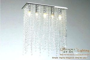 WAREHOUSE OF TIFFANY CLEAVE CRYSTAL 5 LIGHT CHROME CHANDELIER for Sale in Waddell, AZ