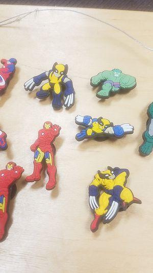 Marvel crock charms (lot of 15) for Sale in Glendale, AZ