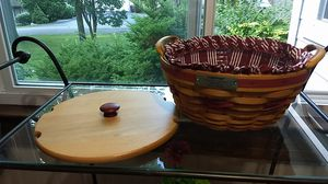Longaberger Christmas 1999 Popcorn Basket for Sale in West Bloomfield Township, MI