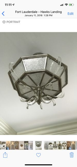 Fine Art Lamps Light Fixture - Retail is $6400 - Beveled Arc Collection for Sale in Fort Lauderdale, FL