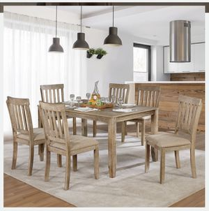 7 pcs Dining Table Set for Sale in Pico Rivera, CA