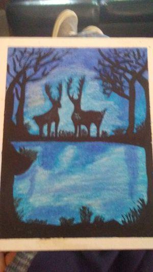 Deer painting for Sale in West Monroe, LA