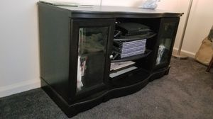 Dark Wood Entertainment Center for Sale in Torrance, CA