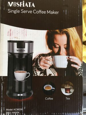 Mosfiata Single serve coffee maker for Sale in Bakersfield, CA