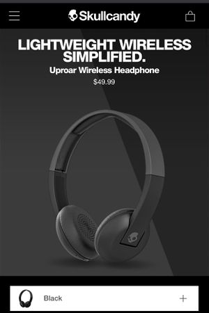 Skullcandy Uproar Bluetooth Headphones for Sale in Alexandria, VA