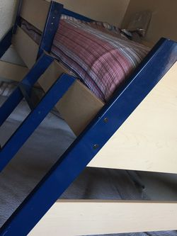 Bunk Bed- With Drawers-Twin over Full, Comes with Full Matress Only. for Sale in San Leandro,  CA