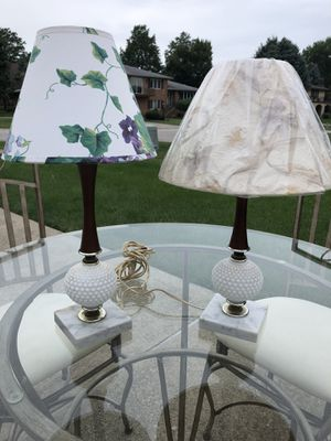 Pair of Antique Table Lamps for Sale in Valparaiso, IN