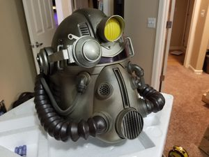 Fallout 76 Power Armor Collector's Edition Helmet with Nylon Duffle Bag for Sale in Scottsdale, AZ