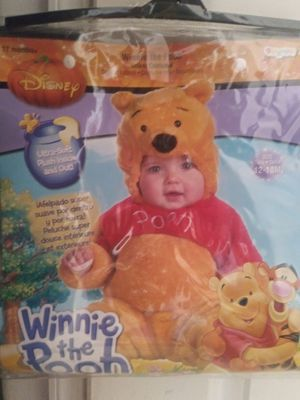 $20 Disney Winnie the Pooh baby costume 12-18 months for Sale in El Monte, CA