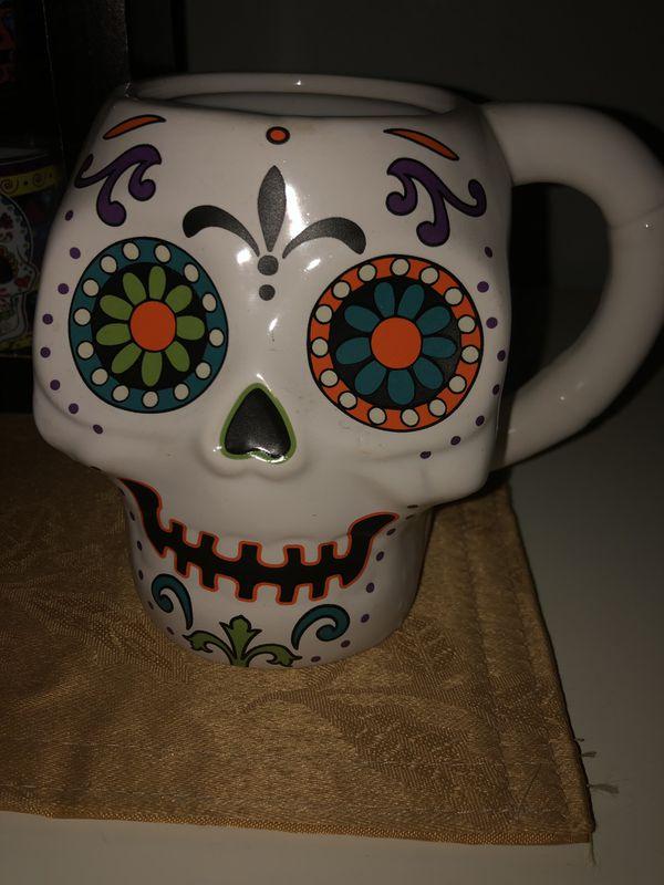 Dia De Los Muertos Shot glasses & Mugs