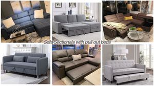 Sleeper Sectionals and Sofas (Modern Home Furniture) for Sale in Everett,, WA
