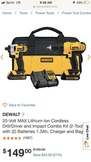 Desalt drill and driver set for Sale in Yakima, WA