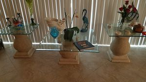 Coffee and end tables for Sale in Saint Petersburg, FL