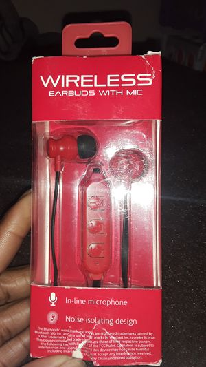 Wireless earbuds with mic for Sale in Sanger, CA