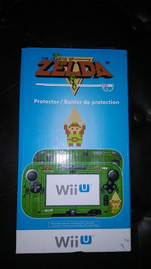 Retro Legend of Zelda Nintendo Wii U Protector for Sale in Turlock, CA