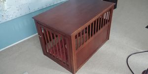 Wooden dog crate for Sale in Vashon, WA