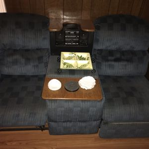 Radio /CD Player/ Inside Cooler 2 Seater Recliner for Sale in Boston, MA