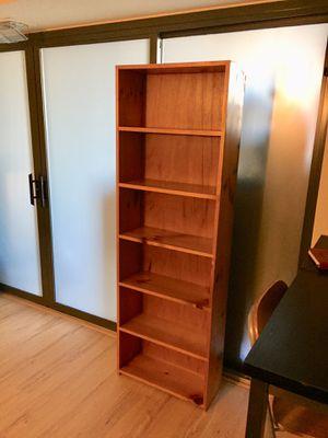 Wooden bookcase for Sale in Arlington, VA