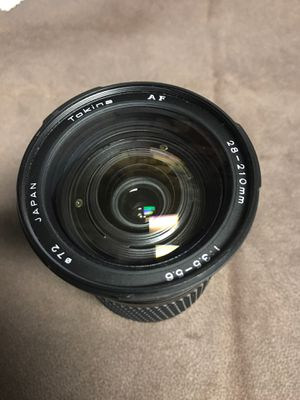 Tokens AF 28-210mm 1:3.5-5.6 lens for Sale in Bellmawr, NJ
