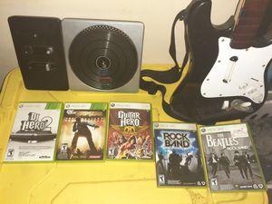 Guitar hero \DJ hero for Xbox 360 for Sale in Nashville, TN