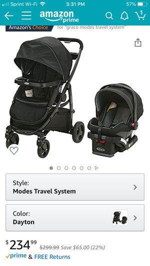 Graco Stroller with all attachments I have the infant car seat which is clean for Sale in Los Angeles, CA