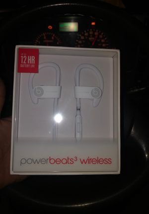 POWER BEATS 3 wireless by DR DRE for Sale in Clifton, NJ