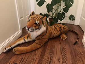 Melissa & Doug plush tiger stuffed animal (brand new condition) bought for $80 (rare, collectible) for Sale in La Habra, CA