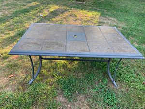 "65""x40"" Patio table for Sale in Nashville, TN"