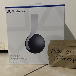 Sony Pulse 3D Headset Playstation 5 Brand New for Sale in Tolleson, AZ