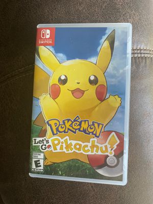 Let's go pikachu-switch for Sale in Knoxville, TN