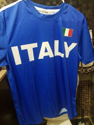 Italy soccer shirt for Sale in Los Angeles, CA