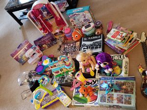 Kids bike, toys, baby alive, sewing machine, board games for Sale in Broadview Heights, OH