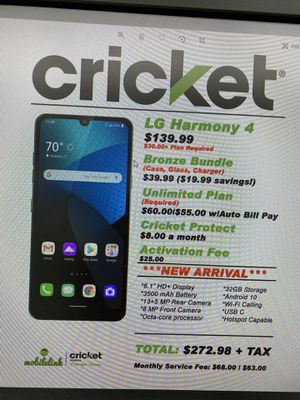 LG harmony 4 for Sale in Bridgeville, DE