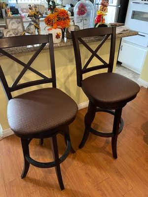 "2 bar stools ""30"" inch TALL $125.. OBO for Sale in Anaheim, CA"