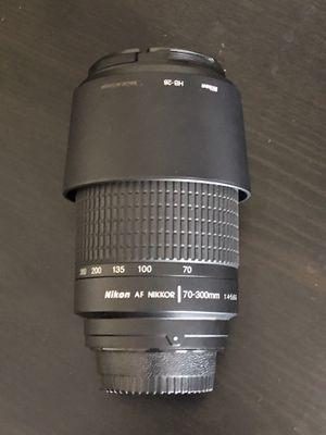 Nikon AF lens 70-300mm for Sale in Hanover Park, IL