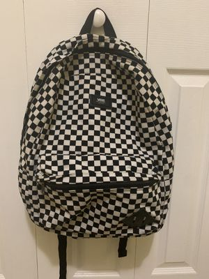 Checkered VANS Backpack for Sale in Hialeah, FL