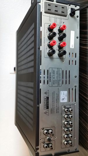 YAMAHA SPEAKERS AND ONKYO INTEGRA STEREO AMPLIFIER for Sale in Temple City, CA