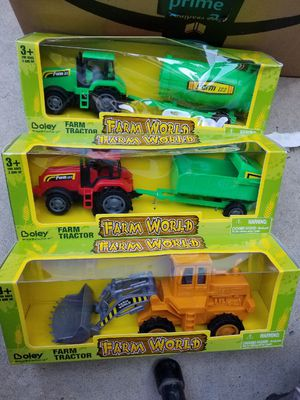 Farm tractor 🚜 $ 6 each for Sale in Fresno, CA