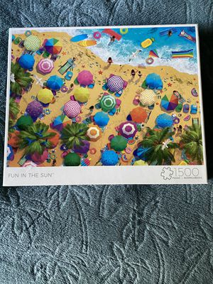 "Brand New 1,500 Piece Family Puzzle ""Fun In The Sun"" for Sale in Sacramento, CA"