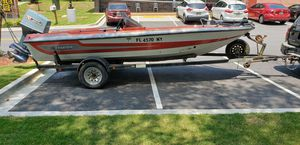 HOLIDAY SPECIAL 1989 STRATOS bass boat 3000 NOT ANY MORE 2500./trade for Sale in Gainesville, GA