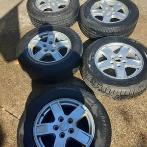 Jeep Wheels And Tires for Sale in Bedford, OH