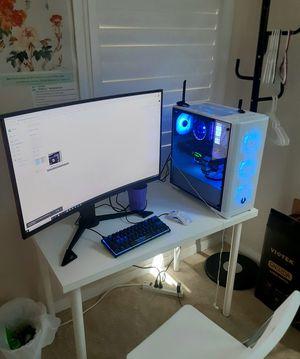 """Viotek GN32DA 32"""" Curved PC Gaming Monitor w/ VESA Stand (Quad-HD, 1440p, 144hz, 1ms) for Sale in Anaheim, CA"""