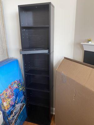 Espresso Bookcase/Media Cabinet for Sale in Arlington, VA