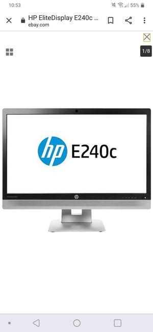 Hp elitedisplay e240 monitor for Sale in Leland, NC