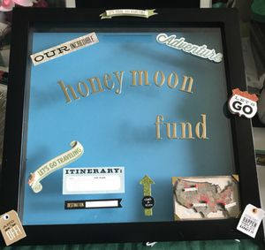 Wedding Honeymoon Fund Box Frame for Sale in Cardington, OH