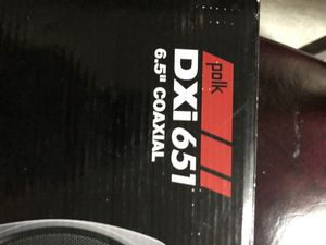 Polk DXi651 6.5 180 watts each one. 360 watts for Sale in Boston, MA