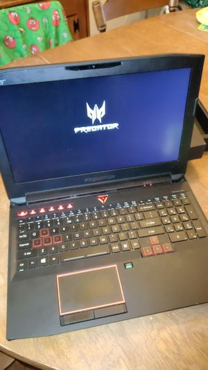 Acer Predator Gaming Laptop 15.6 for Sale in Richmond, VA