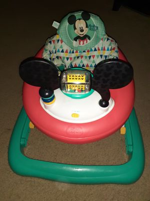 Disney mickey mouse baby Walker very great condition for Sale in Alexandria, VA