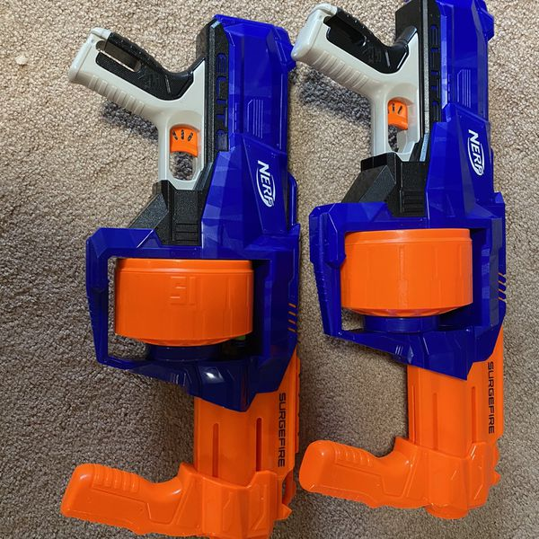 Two Nerf Suregfire